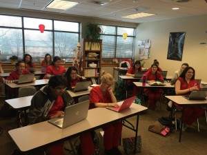 Students at CS Monroe Tech Center's Health and Medical Science Program combine project-based learning and personalized blended learning