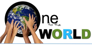 One to the World logo